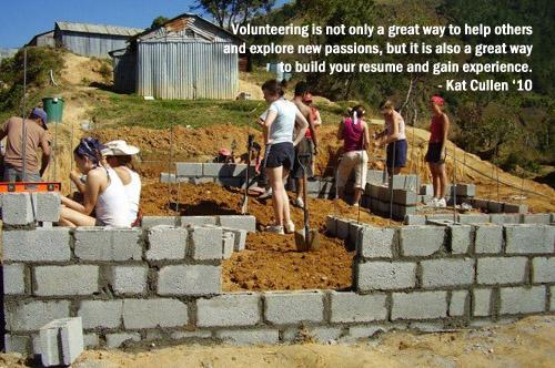 Kat Cullen - Benefits of  Volunteering