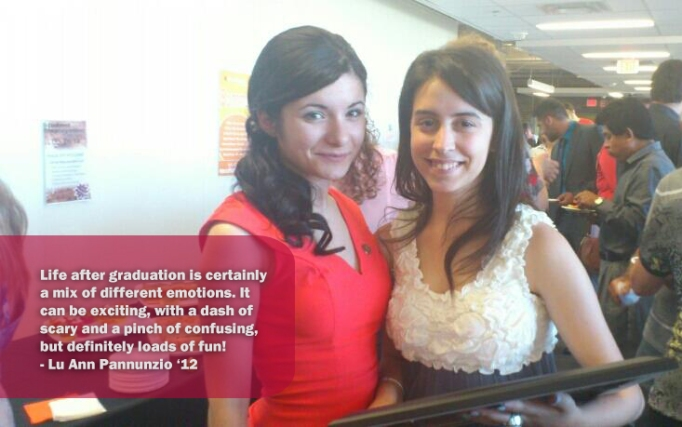 Lu Ann (right) graduated from Mohawk's Advertising Program in 2012.