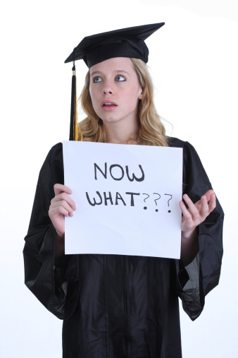 after graduating college
