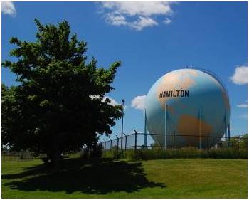 hamilton globe