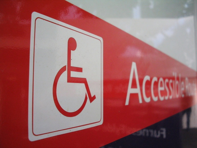 Accessibilty Sign